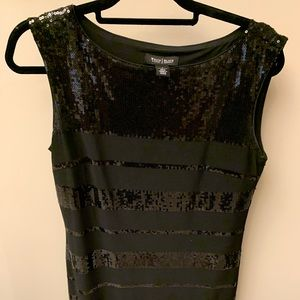 White House Black Market Sequenced Dress- Small